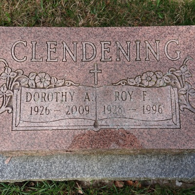 Tombstone - Clendening, Dorothy - (1926-2009)